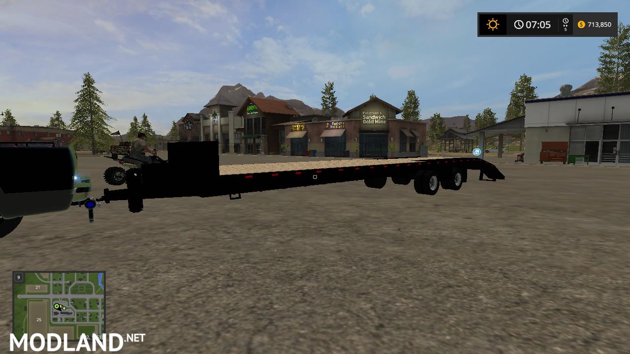 36 Foot Bumper Pull Trailer Mod Farming Simulator 17