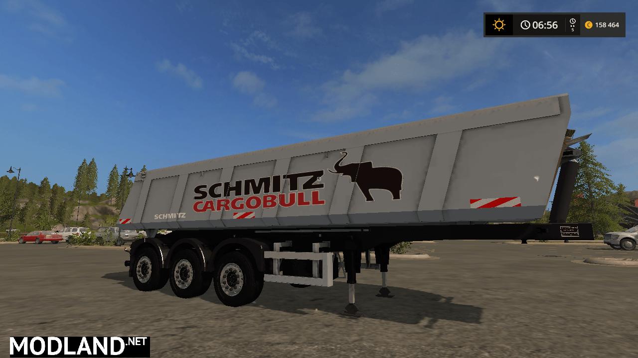 SCHMITZ CargoBull S.KI HEAVY 8.5