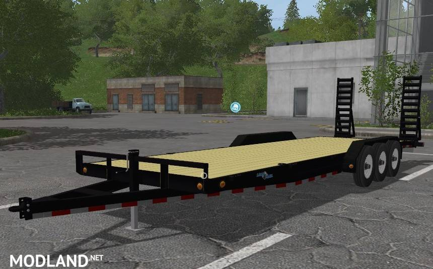 LoadTrail lawncare trailer