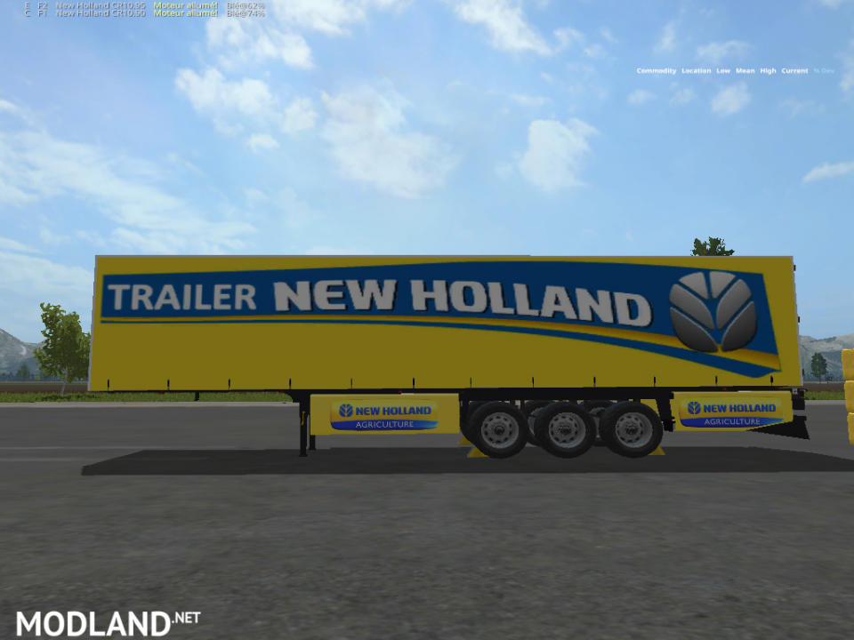 NEW HOLLAND YELLOW 3AND1(RETRAVAILLER BY BOB51160)