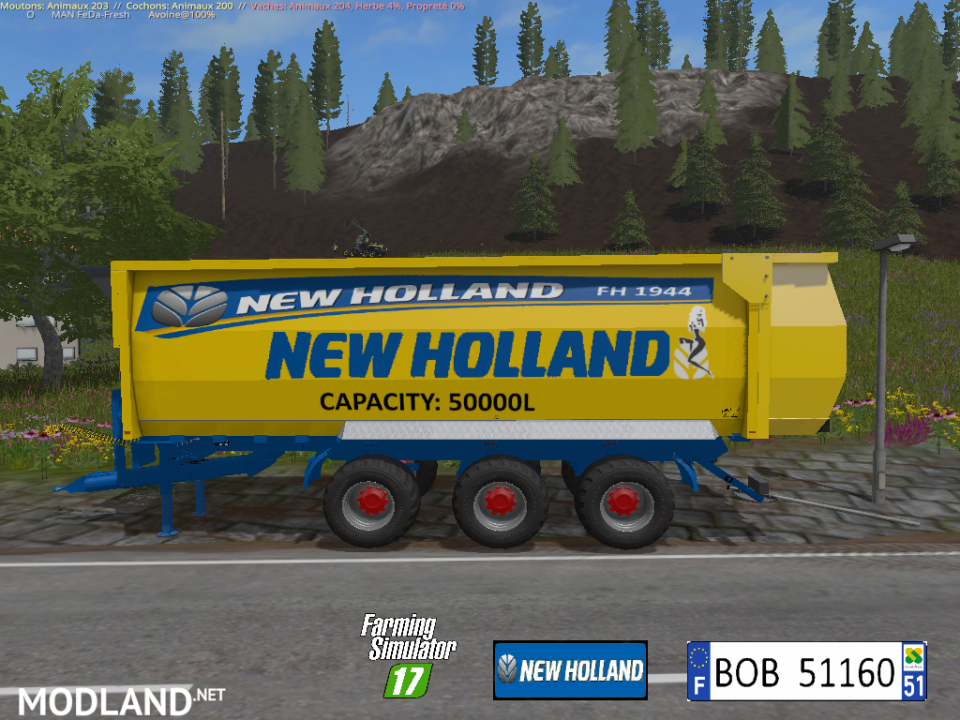 FS 17 New Holland FH 1944 By BOB51160