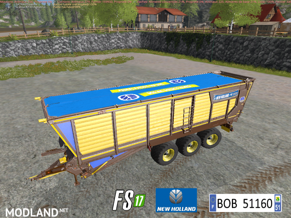 New Holland FR 2020 by BOB51160