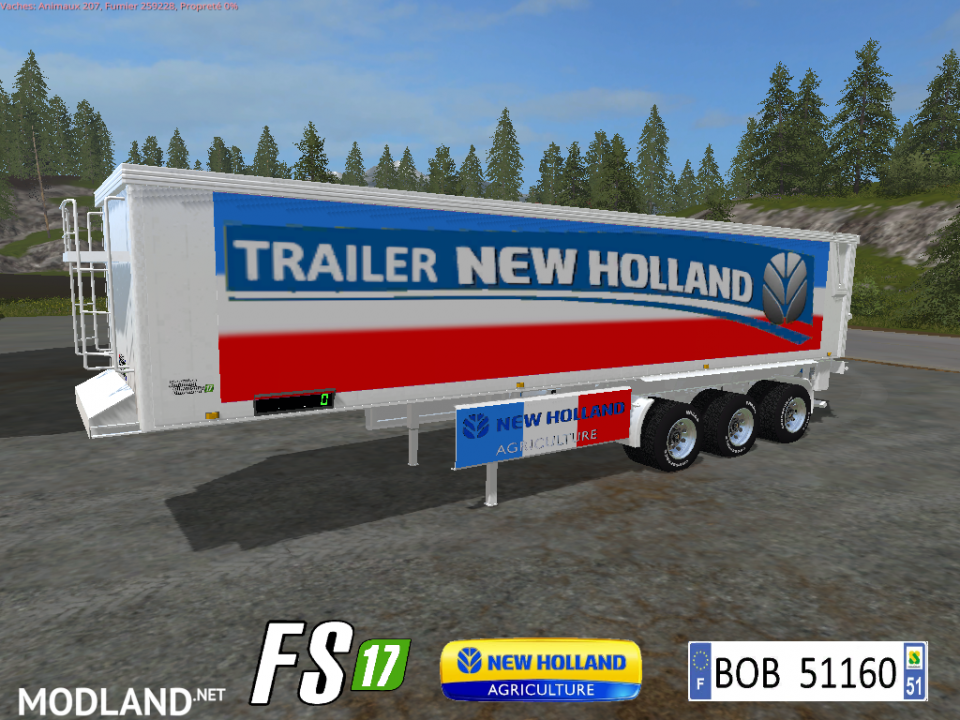 FS 17 Trailer NH Color French Bulk By BOB51160