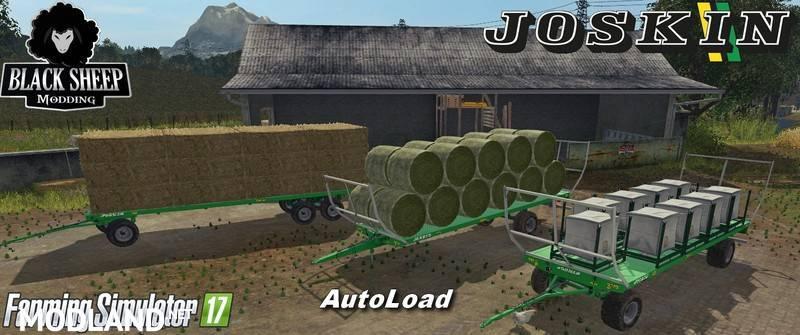 Pack Joskin Wago Bale Trailer Auto Load