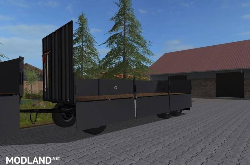 FS17 Rotary platform Bale trailer