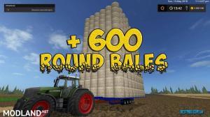 600 Bales Auto Loader Trailer , 1 photo