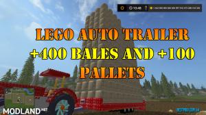 LEGO AUTO TRAILER +400 CAP v 1.1