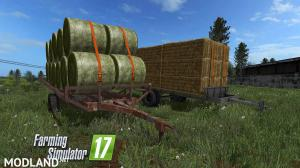 Hungarian Homemade Bale Trailer Pack v 1.0, 1 photo