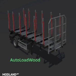 FS17 FLIEGL TIMBER RUNNER SHORT WITH AUTOLOAD WOOD, 1 photo