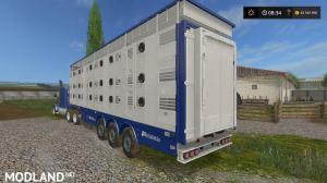 Michieletto AM19 Livestock Trailer v 1.0, 1 photo