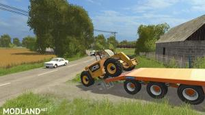 Chieftain Tri Axle Low Loader