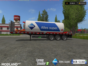 Fuel Aral Trailer v 1.1, 2 photo