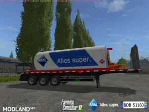 Fuel Aral Trailer v 1.1, 1 photo