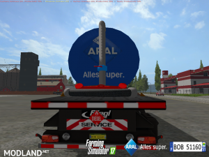 Fuel Aral Trailer v 1.1, 3 photo