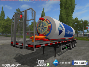 Fuel Aral Trailer v 1.1, 7 photo