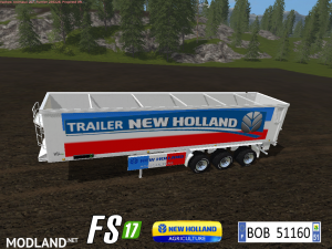 FS 17 Trailer NH Color French Bulk By BOB51160, 3 photo