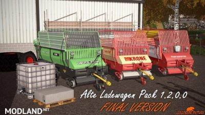 Old forage wagons pack v 1.2