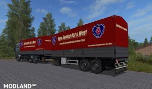 FS17 Rotary platform Bale trailer , 2 photo