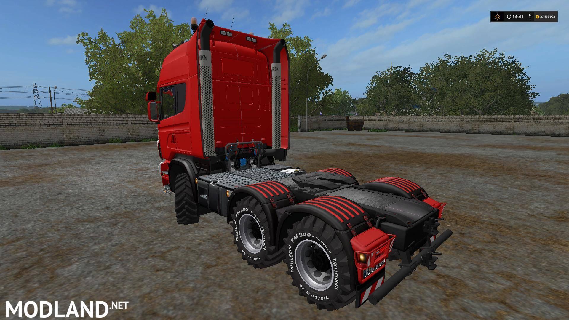 Scania R730 v 1 0 3 mod Farming Simulator 17