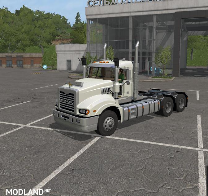 Mack Truck Fertilizer : Mack trident mod farming simulator