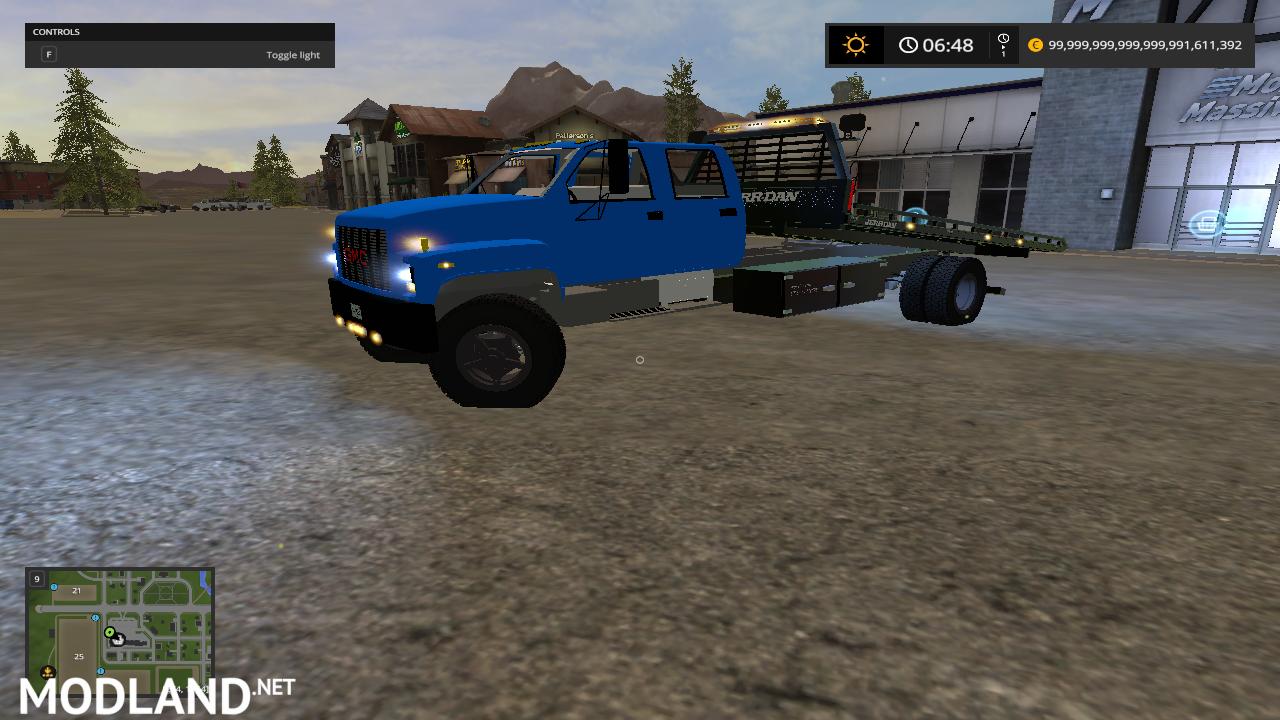 Tow Truck Pack UNZIP mod Farming Simulator 17