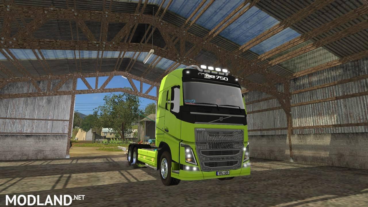 Volvo Fh16 750 Ar Frame Pack V 1 0 Mod Farming Simulator 17