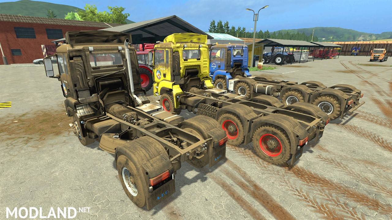 Tractor Chassis Design : Man chassis pack v mod farming simulator