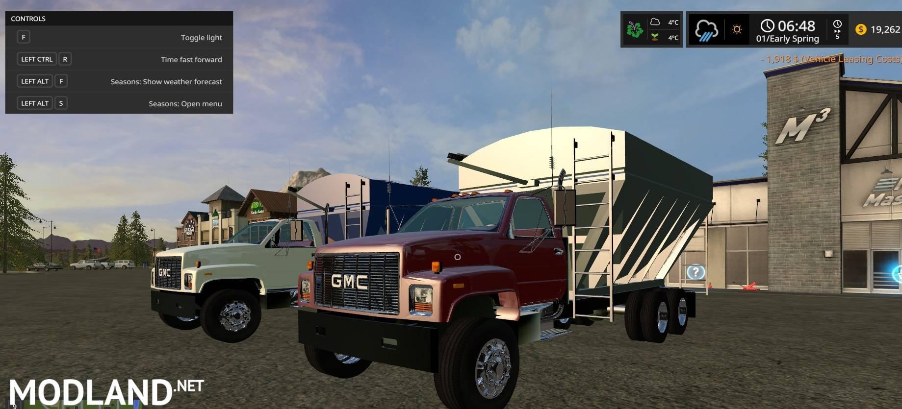Mack Truck Fertilizer : Gmc seed fertilizer tender truck mod farming simulator