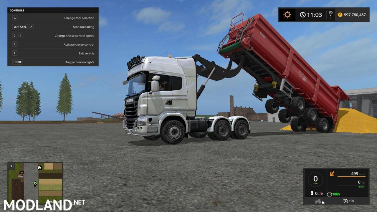 Scania R730 V8 Lifter