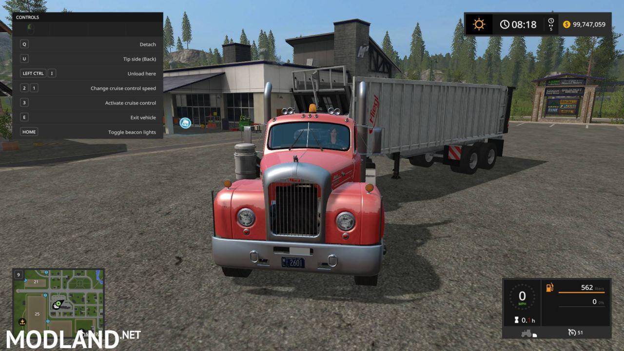 Mack B-61 truck