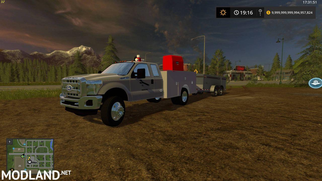 FordF550 Service Truck