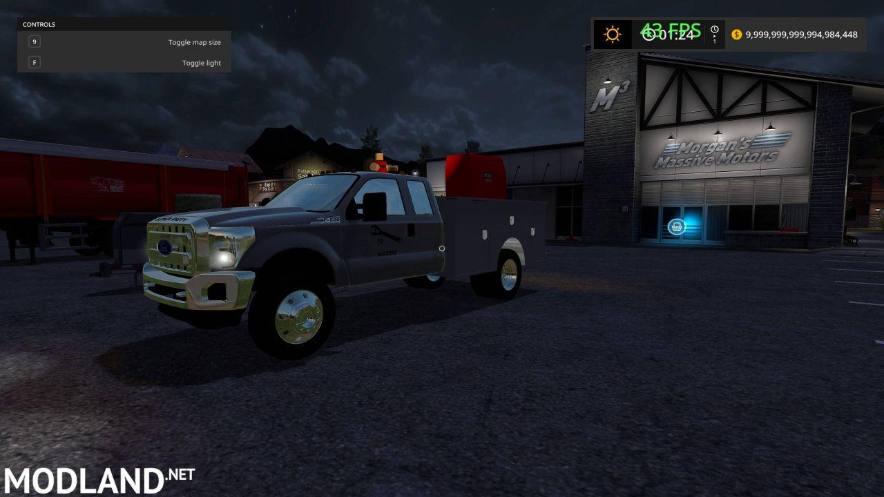 (FS17) 2.0 FordF550 Service Truck