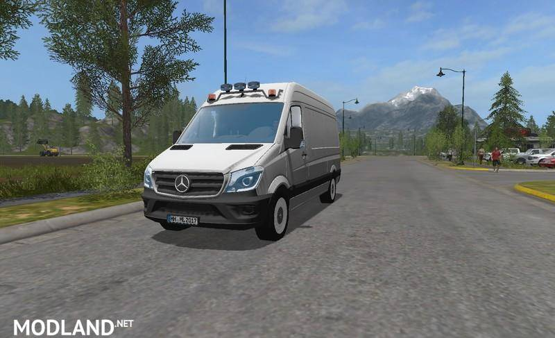 Mercedes Benz Sprinter 2014 Facelift v 0.5 Multicolor