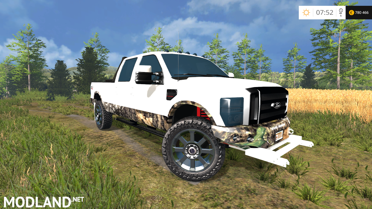 Ford F-250 Camo v 2.0  Converted