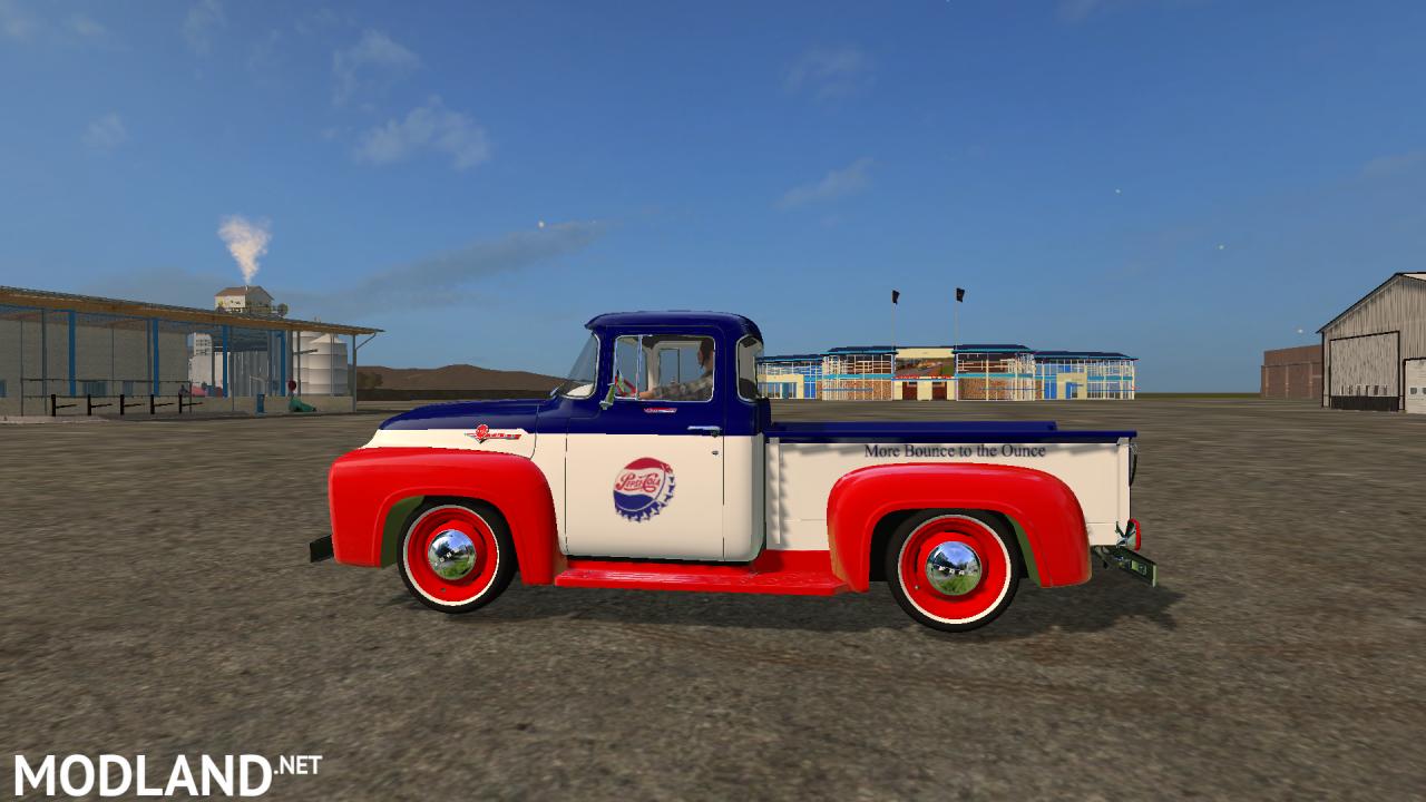 FS17 Ford F100 Pepsi Edition