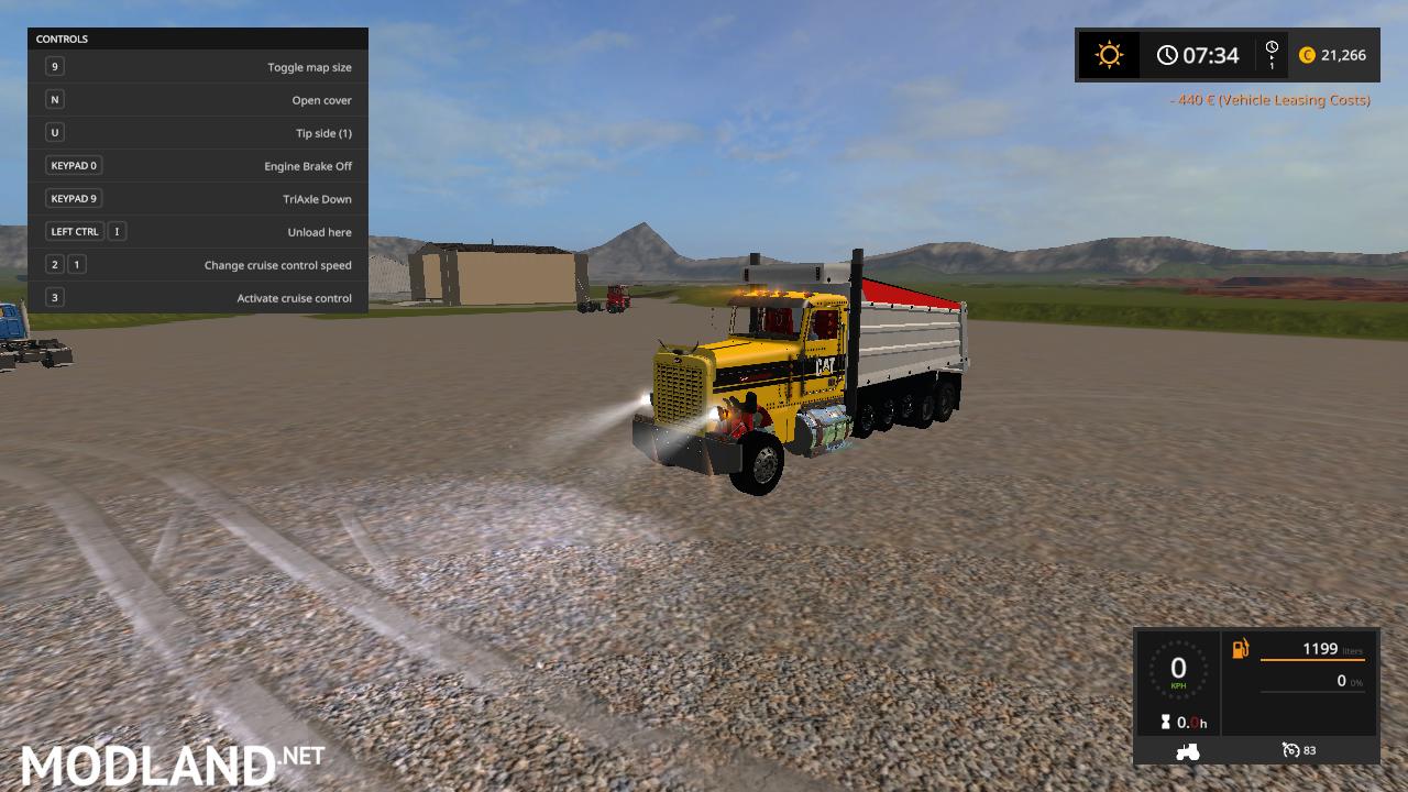 peterbilt 389 dump truck