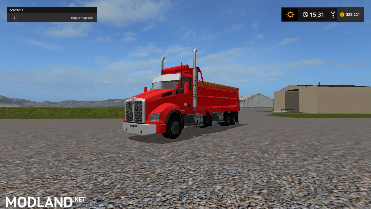 Kenworth T880 Dump truck V3 fix