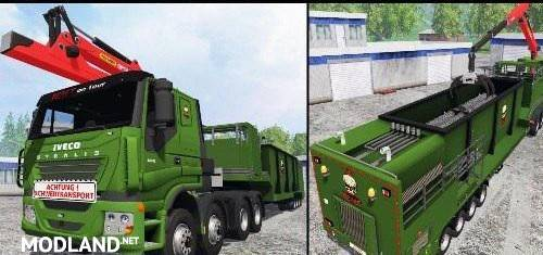 IVECO STRALIS (WOOD CHIPPERS)