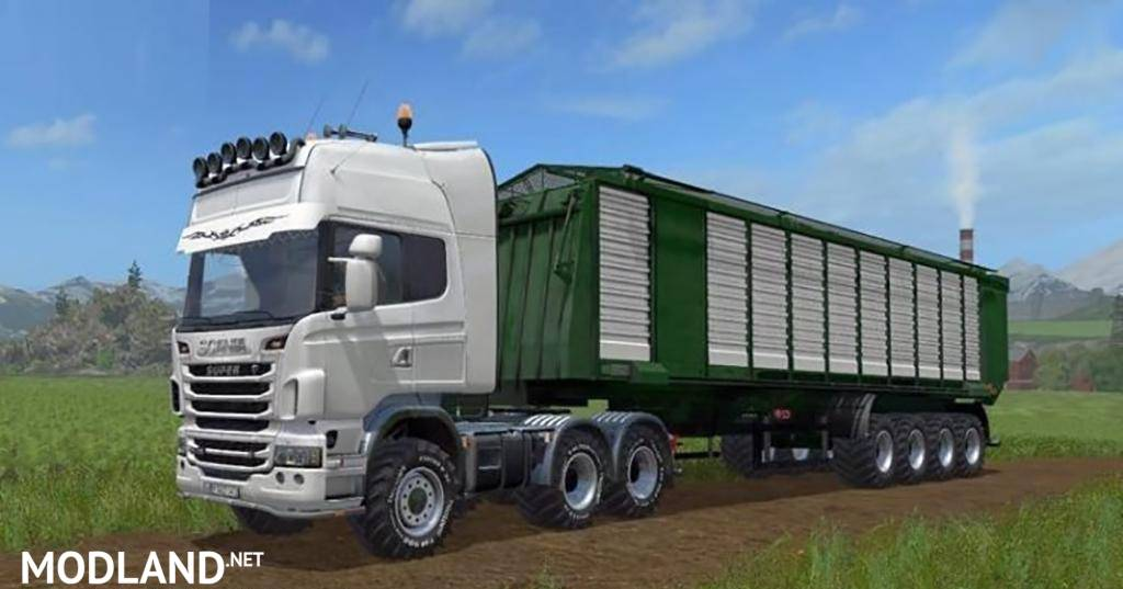 Scania R730 AGRO TRUCK