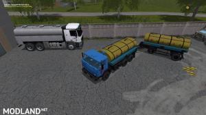 KAMAZ 55102 + TRAILER NEFAZ V1.1.0