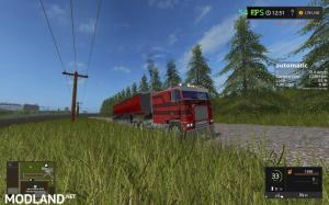 Freightliner FLB cabover, UPDATED with suspension fixed, 1 photo