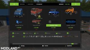 Mercedes-Benz Unimog 1600+trailer for FS 17(Tanker seeders), 5 photo
