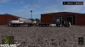 Peterbilt 10x10 Flatbed and Trailer fixed link, 3 photo