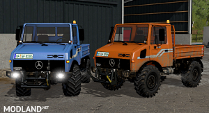MB Unimog 1200/1600 Full Pack, 2 photo