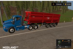 Kenworth T600  Farming Simulator 2017, 3 photo
