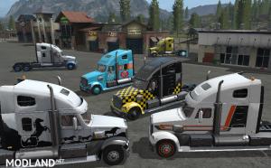 Truck Freightliner Multicolor +5 new designs, 1 photo