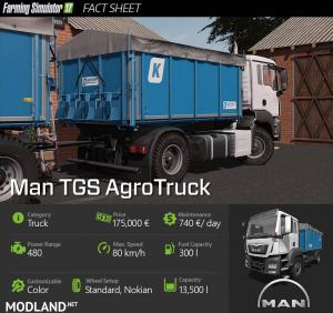 Man AgroTruck Pack v 1.1, 4 photo