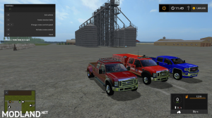 F450 Dulley, F450 Brush Truck and GMC Sierra 3500