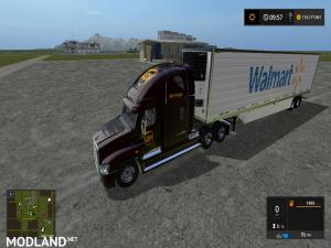 Fs17 Freightliner Cascadia DHL, UPS , FedEx semi, 3 photo