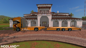 FS17 Scania Lupal Truck and Trailer